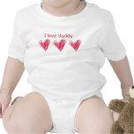 I Love Daddy Tee Shirt