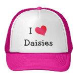 I Love Daisies Cap