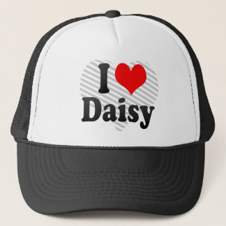 I love Daisy Trucker Hat