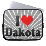 I love Dakota Laptop Computer Sleeves
