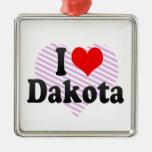 I love Dakota Ornament