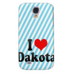I love Dakota Samsung Galaxy S4 Case