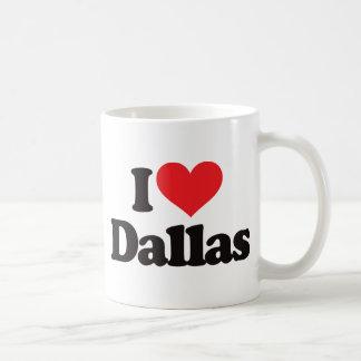 I Love Dallas Coffee Mug