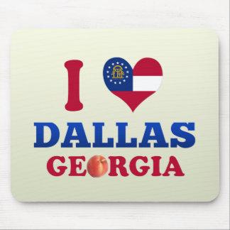 I Love Dallas, Georgia Mousepad