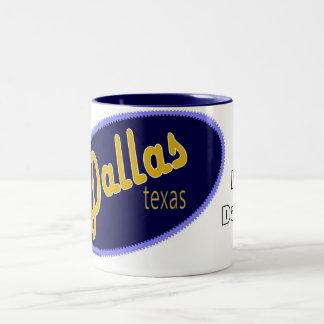 I Love Dallas Texas mug