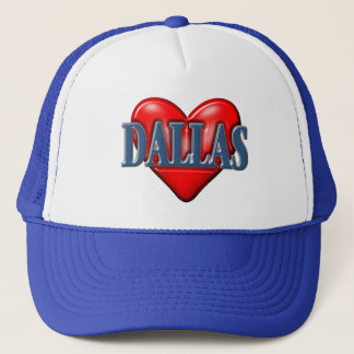 I love Dallas Texas Trucker Hat