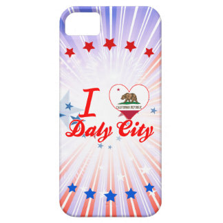 I Love Daly City, California iPhone 5 Covers