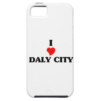 I love Daly City iPhone 5 Cover