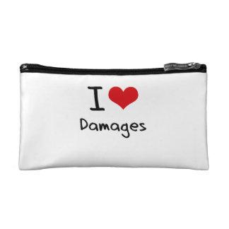 I Love Damages Makeup Bags