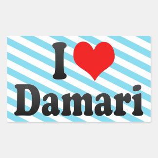 I love Damari Sticker
