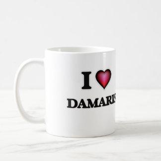 I Love Damaris Basic White Mug