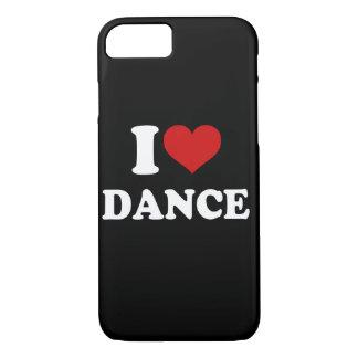 I Love Dance iPhone 7 Case