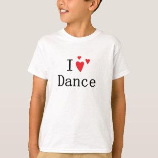 I Love Dance Tees
