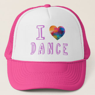 I love Dance Trucker Hat