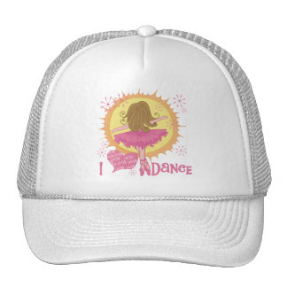 I Love Dance Tshirts and Gifts Trucker Hats