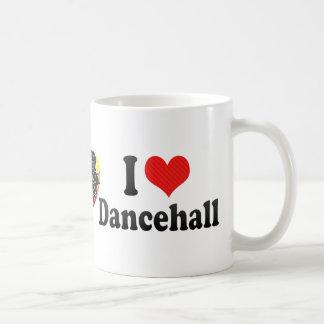 I Love Dancehall Basic White Mug