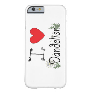 I Love Dandelion iPhone 6s Case for Foragers