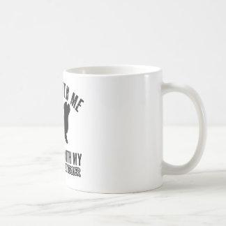 I love DANDIE DINMONT TERRIER. Basic White Mug