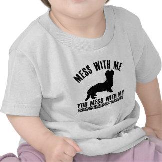 I love DANDIE DINMONT TERRIER. Tee Shirt