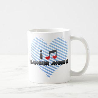 I Love Danger Music Coffee Mugs