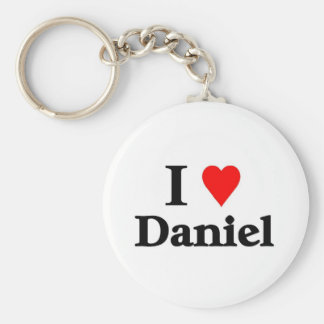 I love Daniel Key Chain