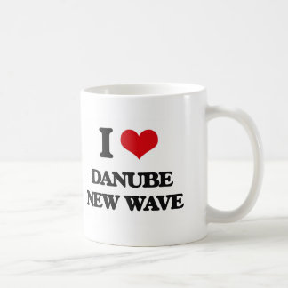 I Love DANUBE NEW WAVE Mugs