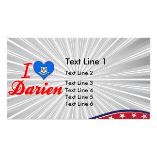 I Love Darien, Connecticut Business Card Templates