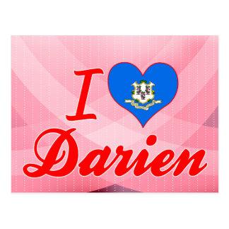 I Love Darien, Connecticut Post Cards