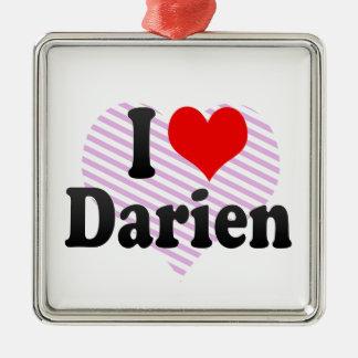 I love Darien Ornaments
