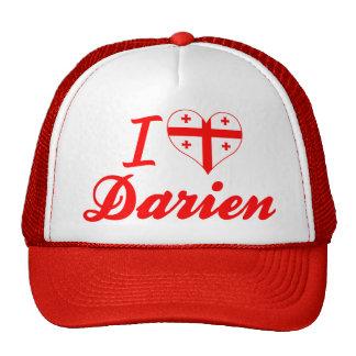 I Love Darien, Georgia Mesh Hat