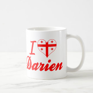 I Love Darien, Georgia Mugs