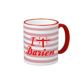 I Love Darien, Georgia Mug