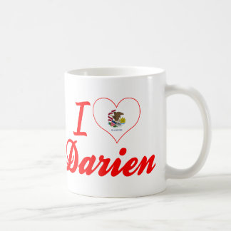 I Love Darien, Illinois Mugs