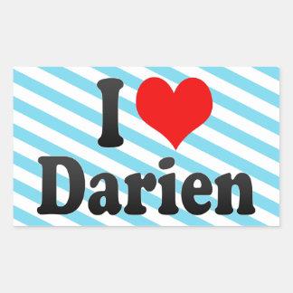 I love Darien Stickers