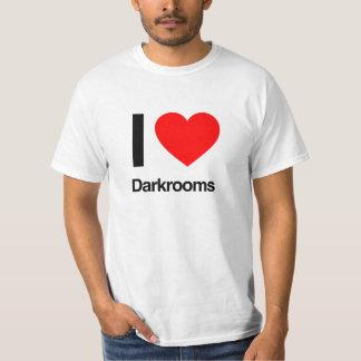 i love darkrooms tee shirts