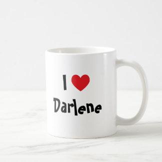 I Love Darlene Coffee Mug
