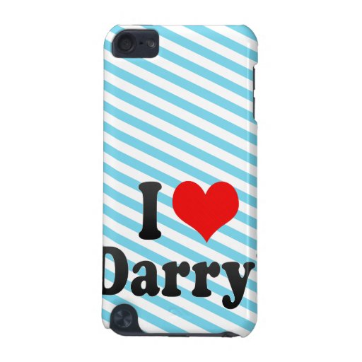 I love Darryl iPod Touch (5th Generation) Cover