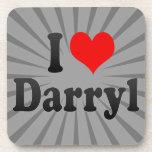 I love Darryl Drink Coaster