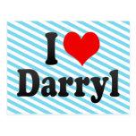 I love Darryl Postcard