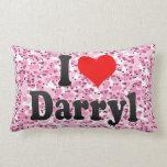 I love Darryl Throw Pillows