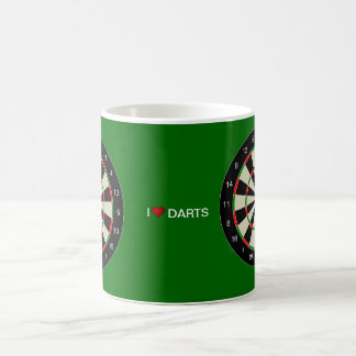 I LOVE DARTS COFFEE MUG