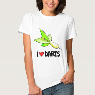 I Love Darts T Shirts