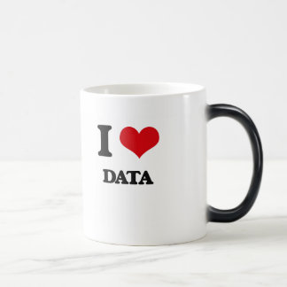 I love Data Magic Mug