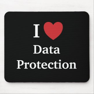 I Love Data Protection Famous Quote Gift Idea