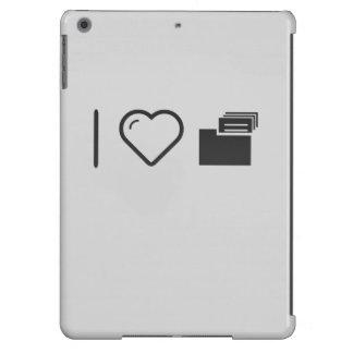 I Love Data Scans iPad Air Case