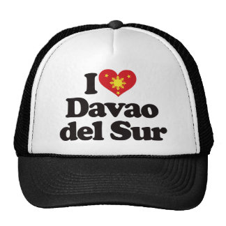 I Love Davao del Sur Trucker Hats