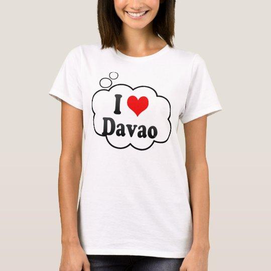 I Love Davao, Philippines T-Shirt