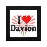 I love Davion Trinket Box