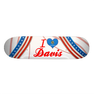 I Love Davis Oklahoma Skateboards