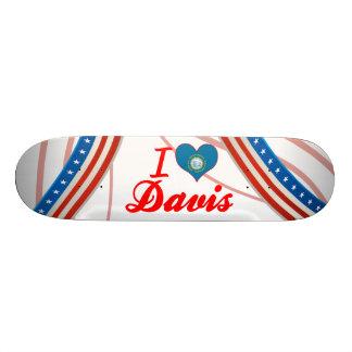 I Love Davis, South Dakota Skate Boards